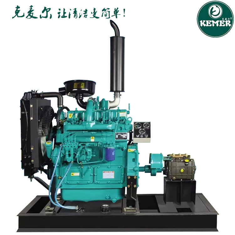 克麦尔BT106200柴油高压管道疏通机200公斤压力流量106L/min