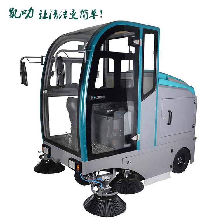 凱叻KL2100全封閉駕駛式掃地車 掃地機
